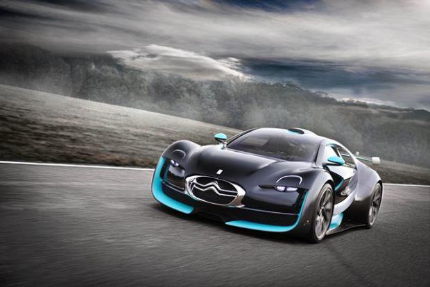 Survolt: carro-conceito da marca exposto no Espaço Citroën Oscar Freire, inaugurado em abri (Foto: Divulgação)