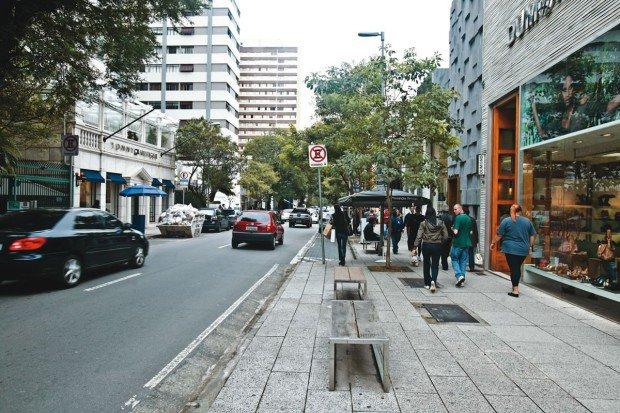 Oscar Freire - Foto: Mario Rodrigues / Veja São Paulo